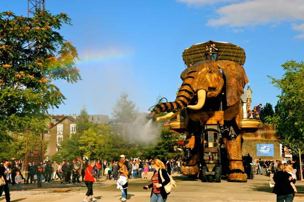 Grand Éléphant de l'île des Machines de Nantes